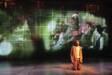The Giver with projections