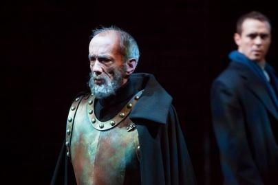 John Hutton as Hamlet's father, ©2014 DCPA